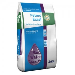 Peters Hard Water Grow 18+10+18+2MgO+ME - 15 KG