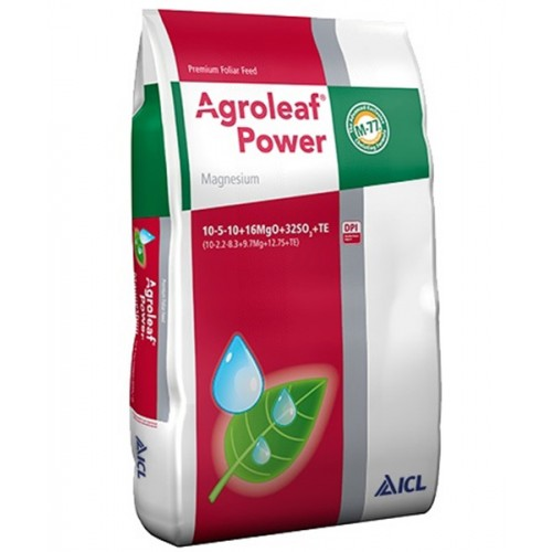 Ingrasamant foliar Agroleaf Power cu magneziu si biostimulatori 15 kg