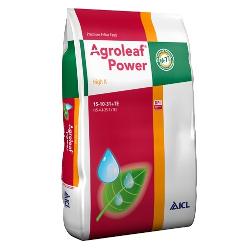 Ingrasamant foliar Agroleaf Power cu potasiu si biostimulatori 2 kg