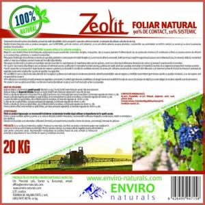 Zeolit foliar natural 20 kg