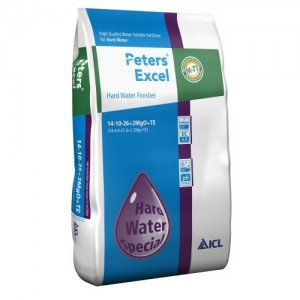 Ingrasamant hidrosolubil Peters Excel Hard Water Finish 15 kg