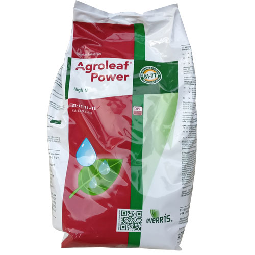 Ingrasamant foliar Agroleaf Power High N 31+11+11+me+biostimulatori 2 kg